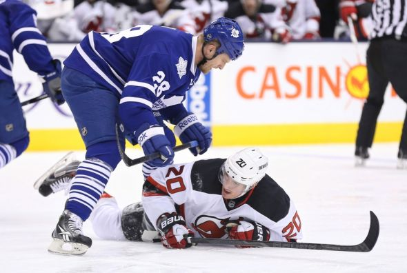 Toronto Maple Leafs: Colton Orr and the End of an Era - Tip of the Tower