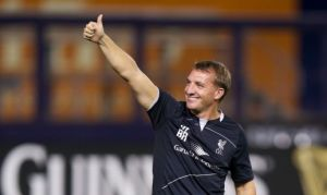 Rodgers is a happy boy www.liverpoolfc.com