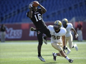 NCAA Football: Vanderbilt at Massachusetts