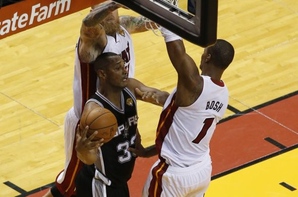Jun 10, 2014; Miami, FL, USA; San Antonio Spurs forward <strong/></a><a target=