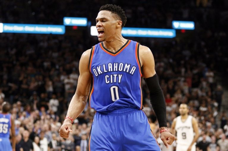 Russell-westbrook-nba-playoffs-oklahoma-city-thunder-san-antonio-spurs-768x511