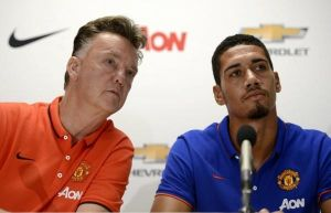Chris Smalling could captain United vs Inter. Credit: Twitter [@PeoplesPerson_]