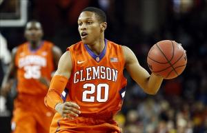 Jordan Roper led Clemson with 12 points