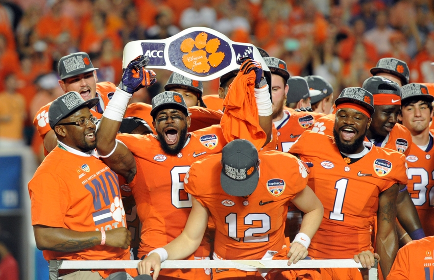 clemson football espn average length of college football game