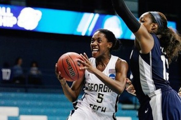 NCAA Womens Basketball: Division I Championship-Georgia Tech vs Georgetown