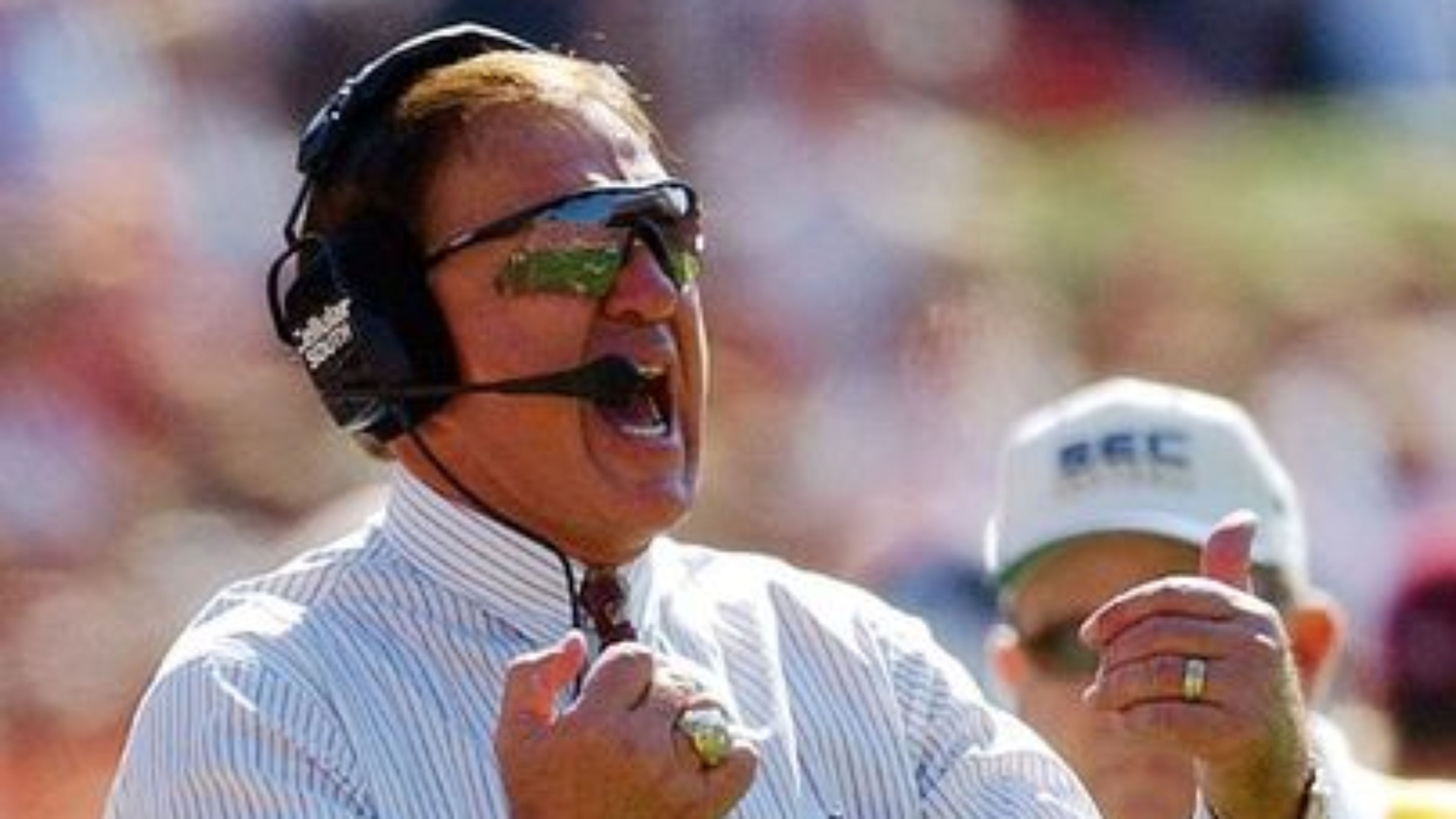 Former Mississippi State head coach Jackie Sherrill saw his 8-0 Bulldogs drop a 19-7 decision to Alabama in Tuscaloosa in 1999. Courtesy of the Montgomery advertiser