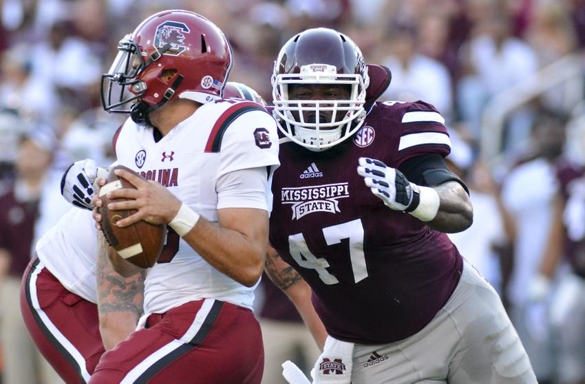 d1f5508013c709 Sep 10, 2016; Starkville, MS, USA; Mississippi State Bulldogs defensive  lineman