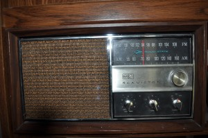The radio from my boyhood that I still possess - from which I listened to hundreds of Orioles broadcasts