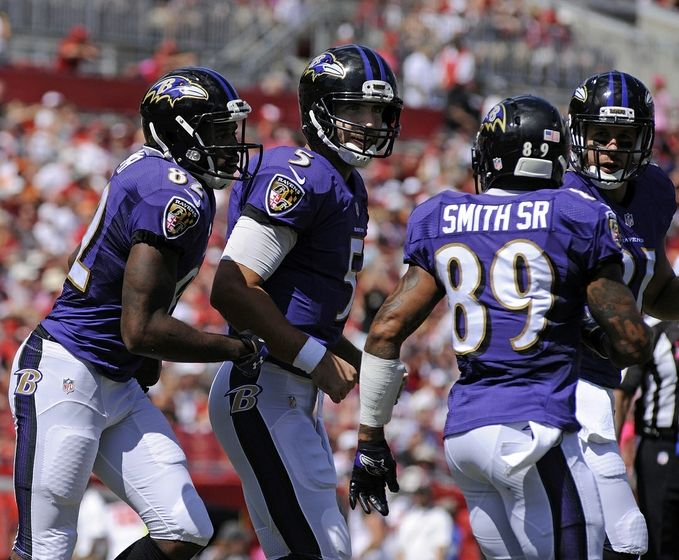 Torrey Smith And Steve Smith Smith 82 And Steve Smith