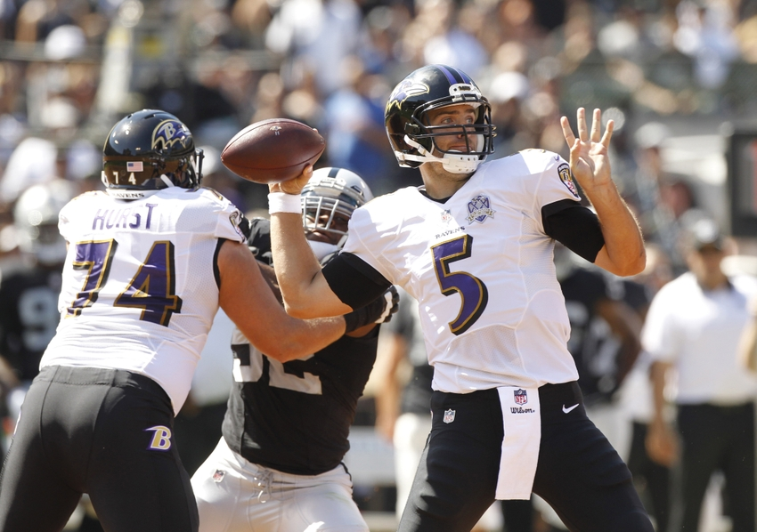 Surprising Ravens seek to stay unbeaten against Raiders