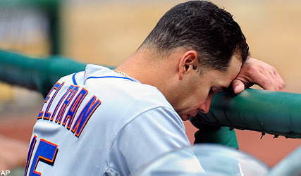 Carlos is sad....And so is the state of the Mets organization