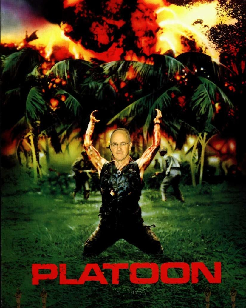 Platoon (Not Just an Overrated Movie About the Vietnam War)