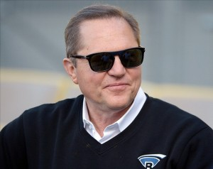 May 1, 2013; Los Angeles, CA, USA; Sports agent Scott Boras attends the MLB game between the Colorado Rockies and the Los Angeles Dodgers at Dodger Stadium. Mandatory Credit: Kirby Lee-USA TODAY Sports