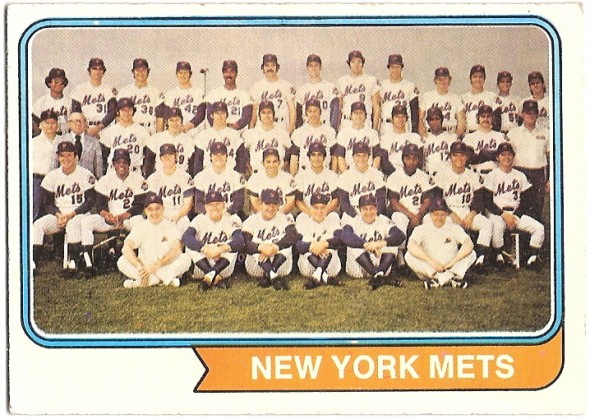 056-F New York Mets Team