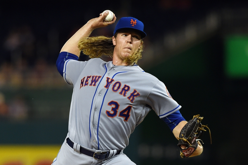 Mets announce Noah Syndergaard would start Wild Card game