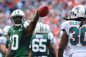Santonio Holmes will look to come back with a strong season after missing majority of 2012.