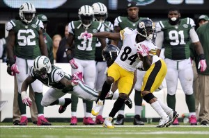 After Antonio Brown had a big game against the Jets secondary, do the Jets need to draft a corner?