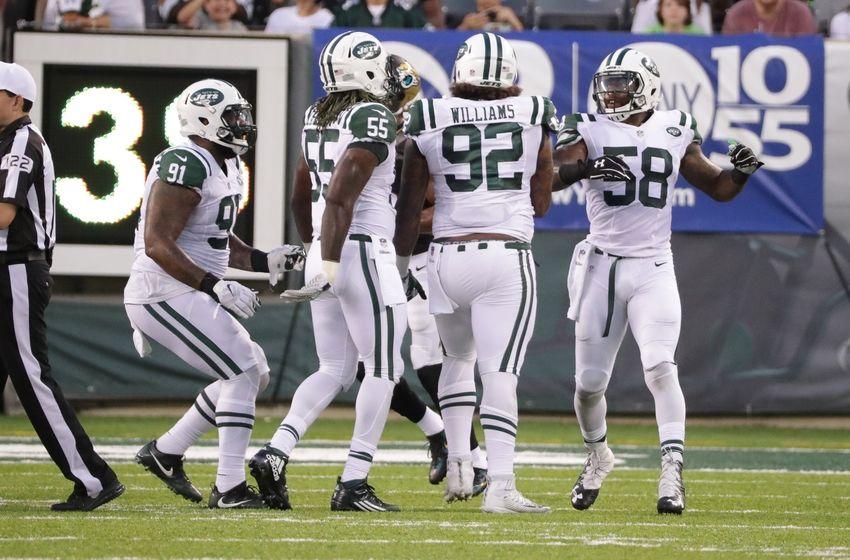 b9cdbe0d8 Men s New York Jets Leonard Williams  92 Green Color Rush Elite NFL Jersey