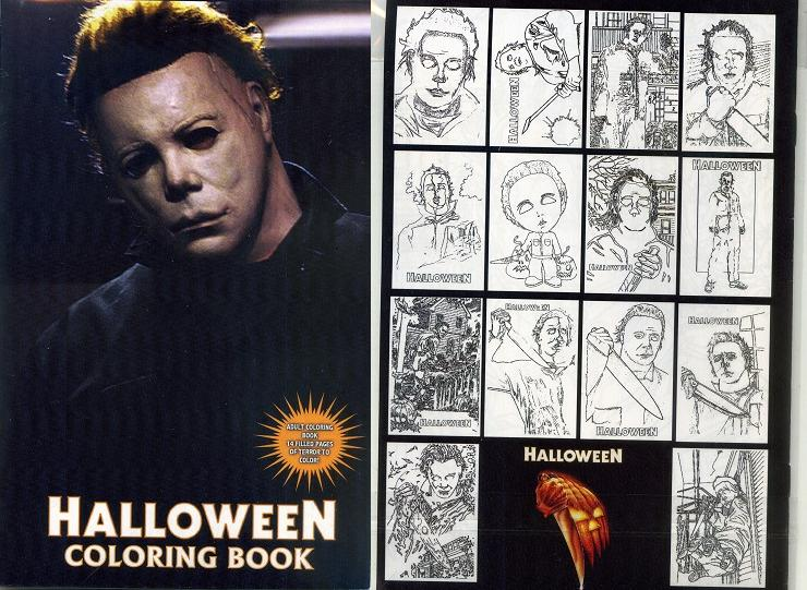 Bring Out Your Inner Kid With Horror Movie Coloring Books