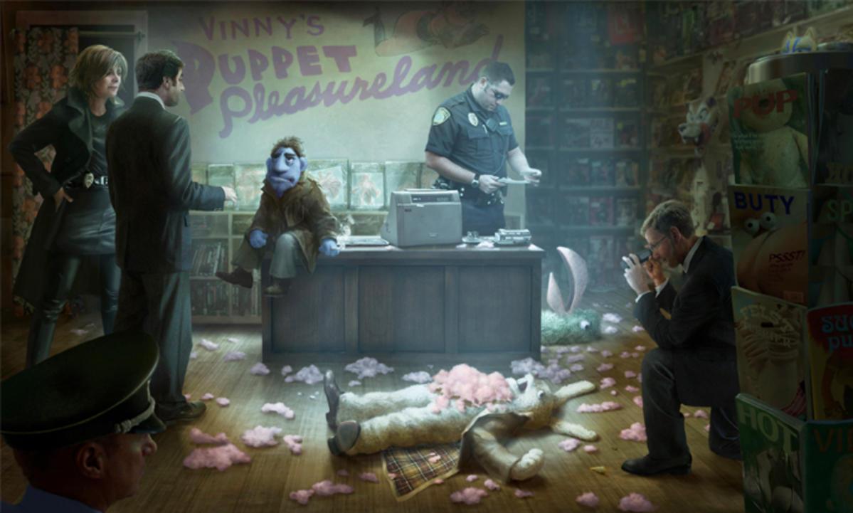 Jamie Foxx Investigates Puppet Serial Killer in New Film
