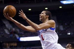 Has Michael Carter-Williams been the stand out rookie so far this season? Mandatory Credit: Rick Osentoski-USA TODAY Sports