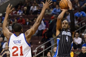 Arron Afflalo is doing all he can to keep the Orlando Magic playing hard every night. Mandatory Credit: Howard Smith-USA TODAY Sports