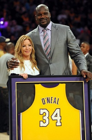 A Los Angeles Lakers legend, Shaquille O'Neal was a former No. 1 pick by the Orlando Magic