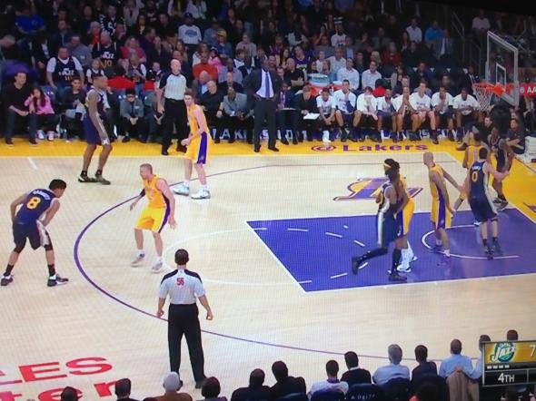 Start of LAL Defensive Play
