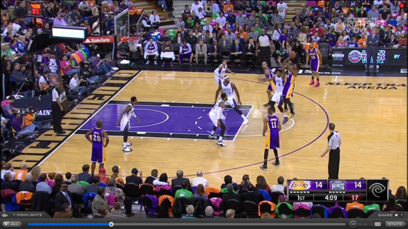 Nick Young Airball