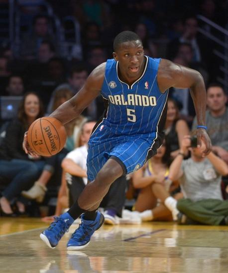 There has been much to like about Victor Oladipo's play for Orlando this year. Mandatory Credit: Kirby Lee-USA TODAY Sports