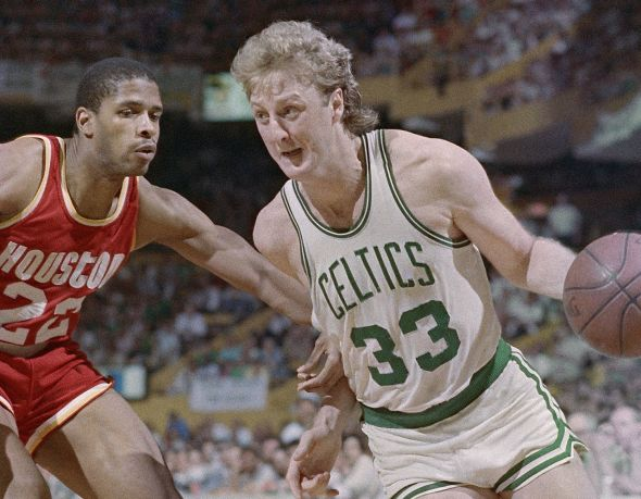 Larry Bird came out of Indiana State in 1979 and immediately lifted the Celtics back into the NBA's elite. (USATSI)