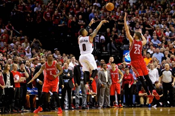 Damian Lillard's series winning shot vs. Houston will live long in the memory. Mandatory Credit: Craig Mitchelldyer-USA TODAY Sports