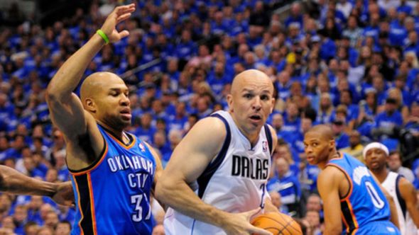 A little more than two years ago, Derek Fisher and Jason Kidd were doing battle in the playoffs. Now they are opposing head coaches in New York City. Mandatory Credit: Jerome Miron-US PRESSWIRE