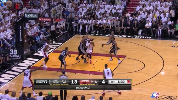 The Spurs don't really care about most guys. From Victory in Game 4 vs. Heat