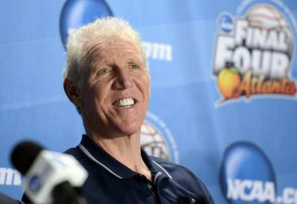 Apr 5, 2013; Atlanta, GA, USA; NBA former player Bill Walton speaks during the 75 years of March madness press conference in preparation for the Final Four of the 2013 NCAA basketball tournament at the Georgia Dome. Mandatory Credit: Richard Mackson-USA TODAY Sports