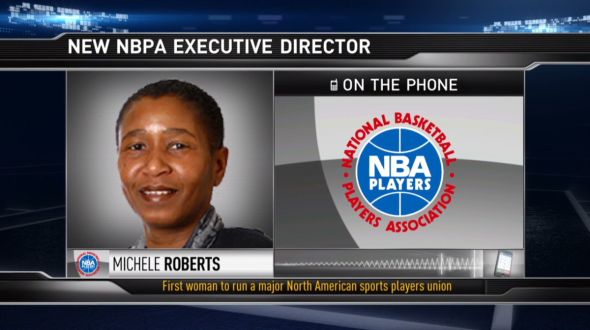 The age-limit question, left open in the 2011 collective bargaining agreement, should be the first priority for new NBPA executive director Michele Roberts. (Image capture from nba.com)