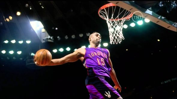 Vince Carter was the Toronto Raptors' first-ever All-Star in 2000.