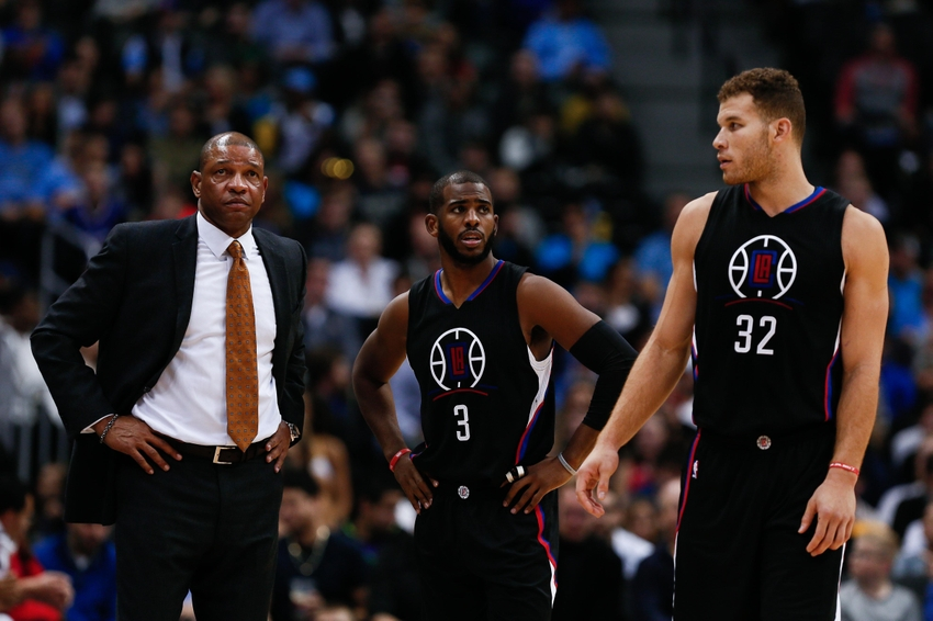 Chris-paul-doc-rivers-blake-griffin-nba-los-angeles-clippers-denver-nuggets