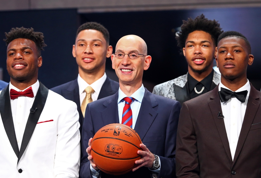 76ers take Ben Simmons with No. 1 pick in National Basketball Association draft