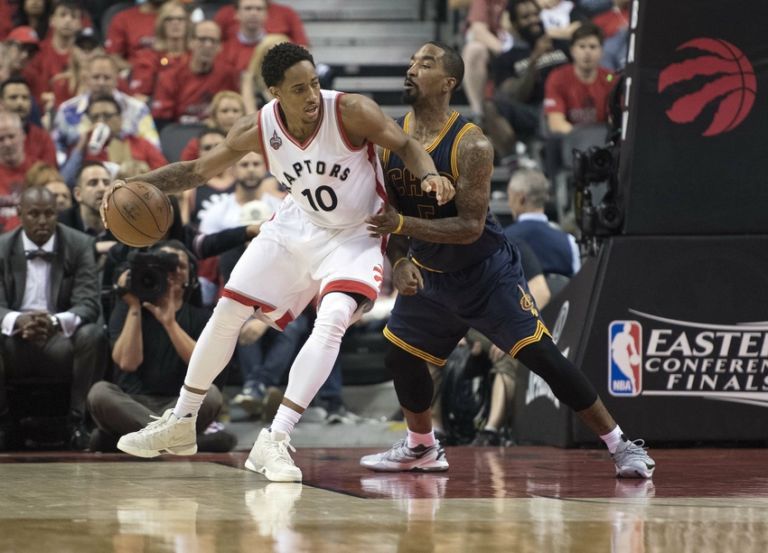 J.r.-smith-demar-derozan-nba-playoffs-cleveland-cavaliers-toronto-raptors-768x553