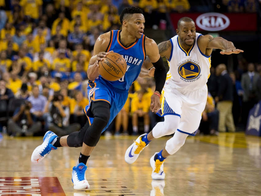 Westbrook stays with Oklahoma City after Durant bolts town