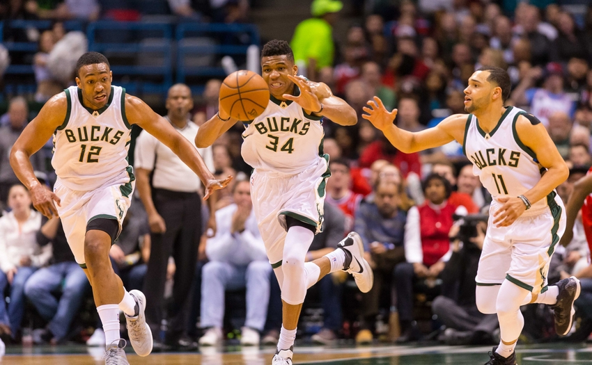 4027b6347337 The Milwaukee Bucks crashed back to earth in 2015-16 after shocking the NBA  with a 26-win improvement the previous season. So which Bucks  team will we  see ...