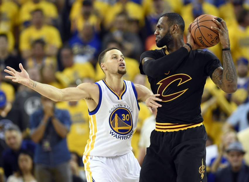 NBA: Cleveland Cavaliers-Golden State Warriors NBA's Best ...