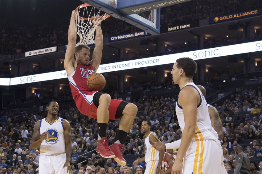 9589743-blake-griffin-klay-thompson-nba-preseason-los-angeles-clippers-golden-state-warriors