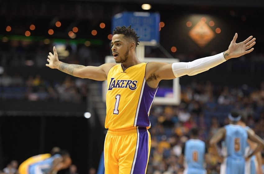 D'Angelo Russell Los Angeles Lakers