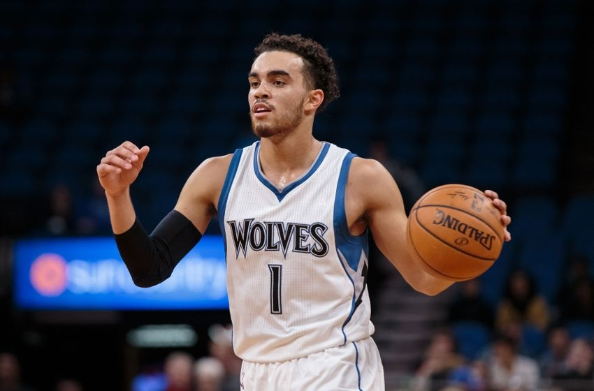 Tyus Jones Minnesota Timberwolves