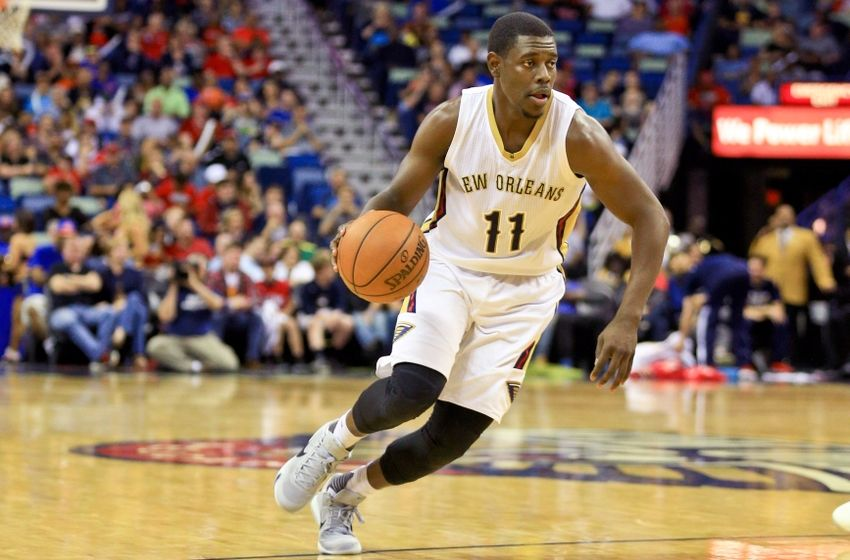 Image result for jrue holiday pelicans 2016