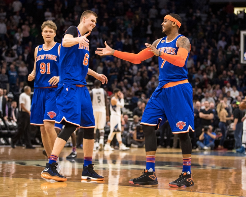 Anthony scores 35, Knicks beat depleted Heat 114-103