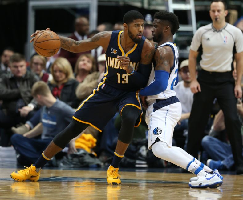A hot stretch Paul George has him back to elite status in FanDuel NBA play