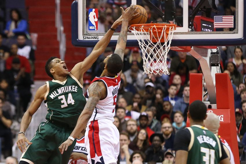 Giannis Antetokounmpo is the premier shooting guard in FanDuel NBA play.